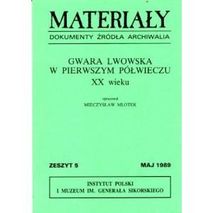 Materiały, zeszyt 5