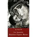 List Apostolski Rosarium Virginis Mariae