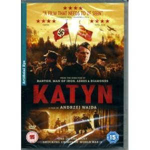 Katyń. A film DVD by Andrzej Wajda