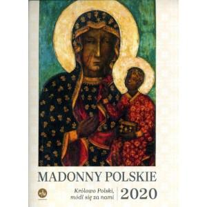 Kalendarz 2020 - Madonny Polskie