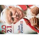 Kalendarz ścienny 2021 - św. Jan Paweł II