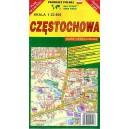 Częstochowa. Mapa