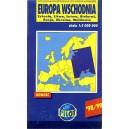Europa Wschodnia. Mapa